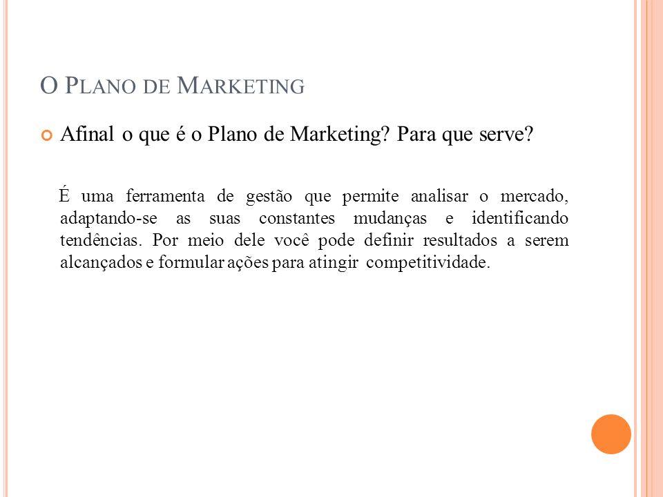 O Plano de Marketing Afinal o que é o Plano de Marketing Para que serve