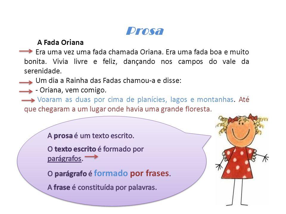 Prosa A Fada Oriana.