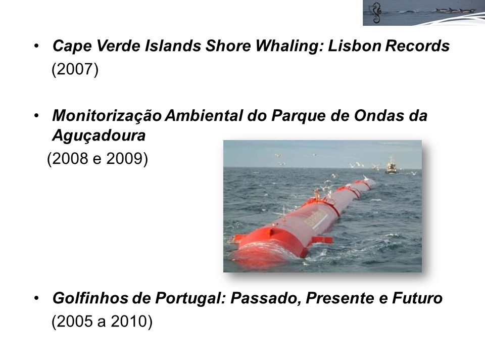 Cape Verde Islands Shore Whaling: Lisbon Records