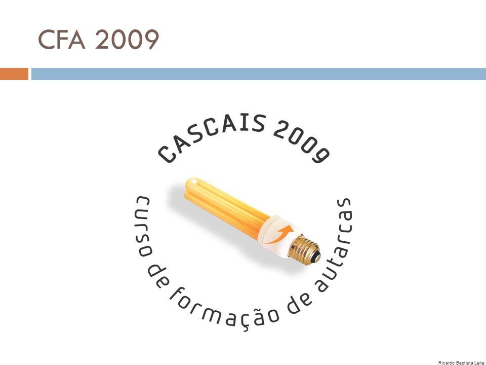 CFA 2009 Ricardo Baptista Leite