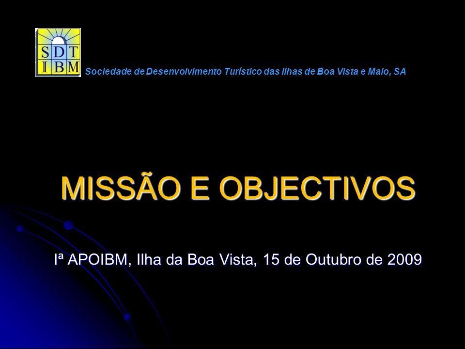 Iª APOIBM, Ilha da Boa Vista, 15 de Outubro de 2009
