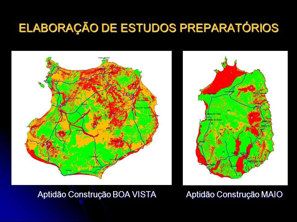 ELABORAÇÃO DE ESTUDOS PREPARATÓRIOS