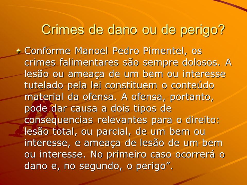 Crimes de dano ou de perigo