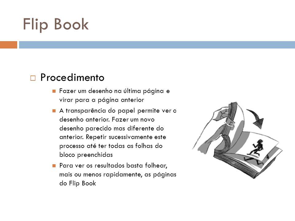 Flip Book Procedimento