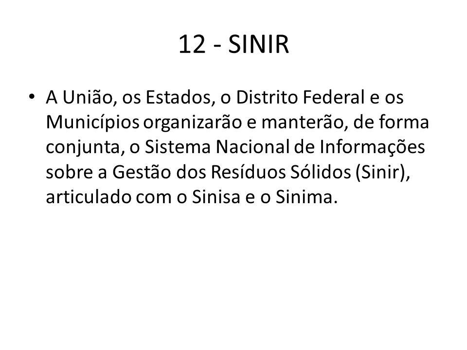 12 - SINIR