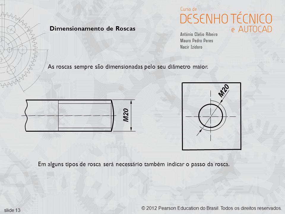 M20 M20 Dimensionamento de Roscas