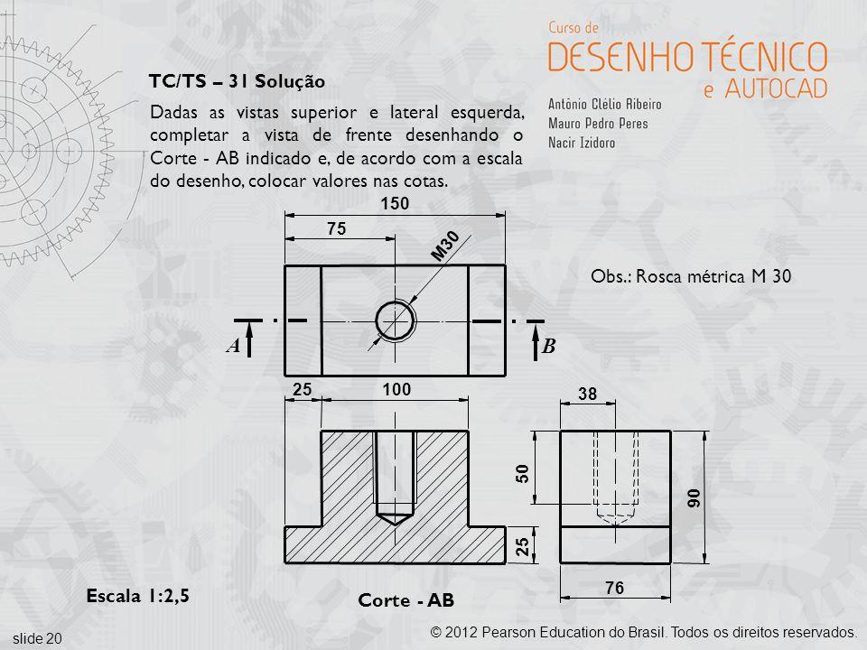 TC/TS – 31 Solução