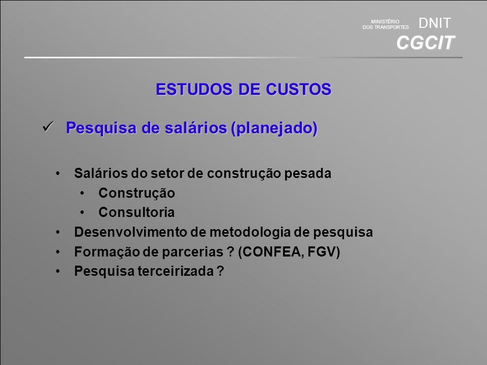 Pesquisa de salários (planejado)