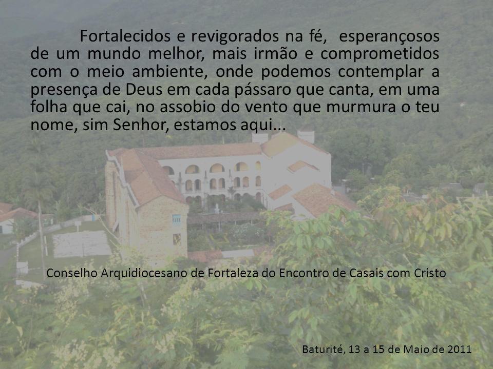 Conselho Arquidiocesano de Fortaleza do Encontro de Casais com Cristo