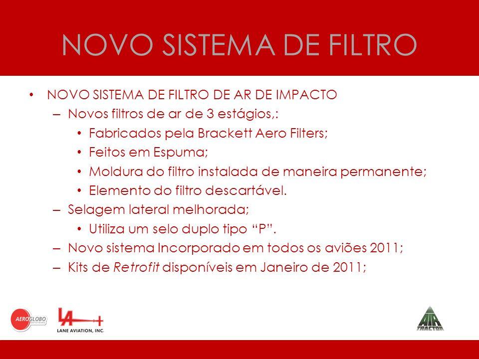 NOVO SISTEMA DE FILTRO NOVO SISTEMA DE FILTRO DE AR DE IMPACTO
