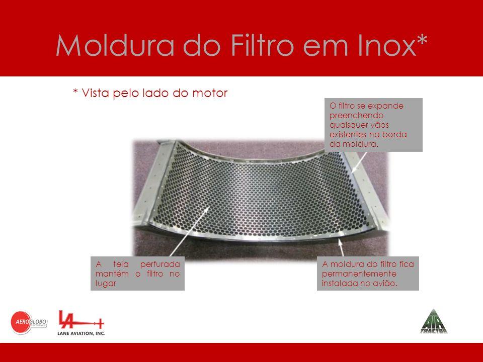 Moldura do Filtro em Inox*