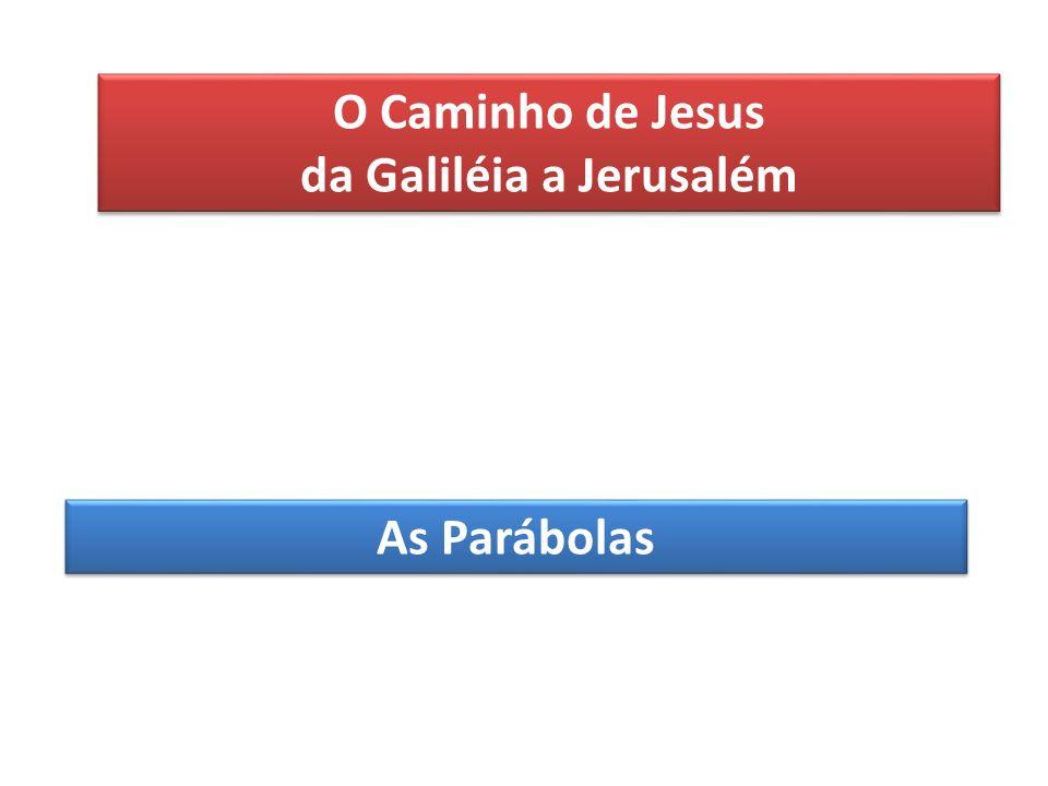 da Galiléia a Jerusalém