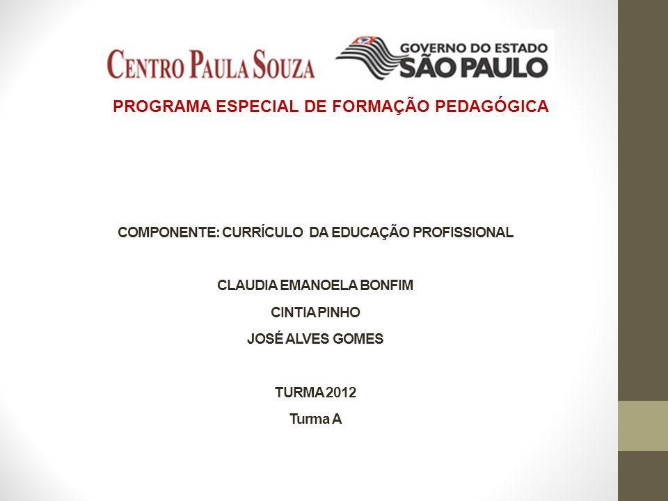 PROGRAMA ESPECIAL DE FORMAÇÃO PEDAGÓGICA