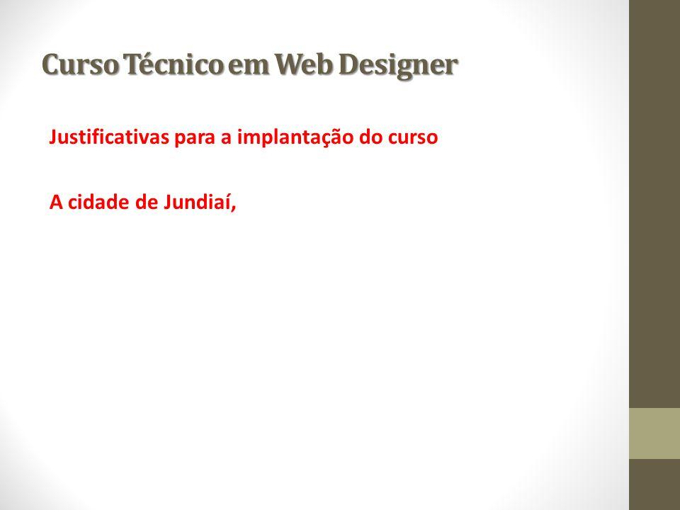 Curso Técnico em Web Designer