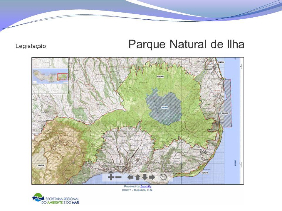 Legislação Parque Natural de Ilha