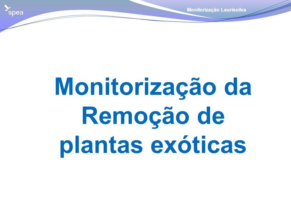 Monitorização da Remoção de plantas exóticas