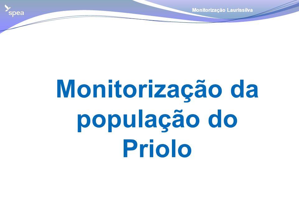 Monitorização da população do Priolo