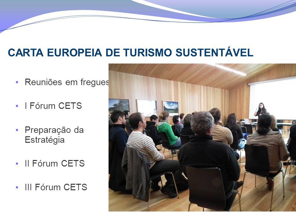 CARTA EUROPEIA DE TURISMO SUSTENTÁVEL