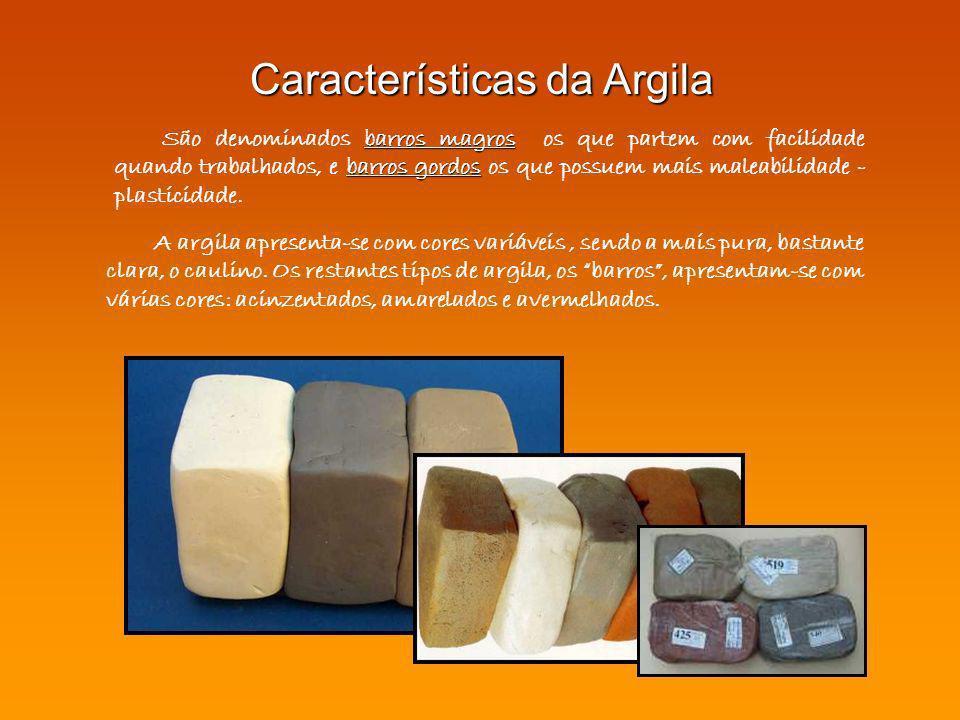 Características da Argila
