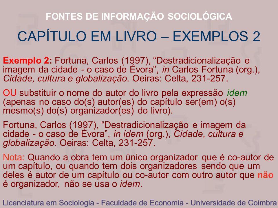 CAPÍTULO EM LIVRO – EXEMPLOS 2