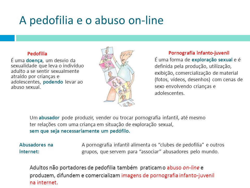 A pedofilia e o abuso on-line