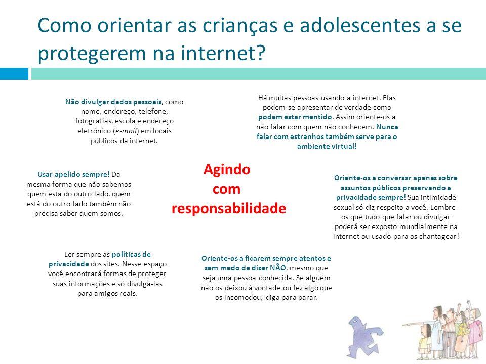 Como orientar as crianças e adolescentes a se protegerem na internet