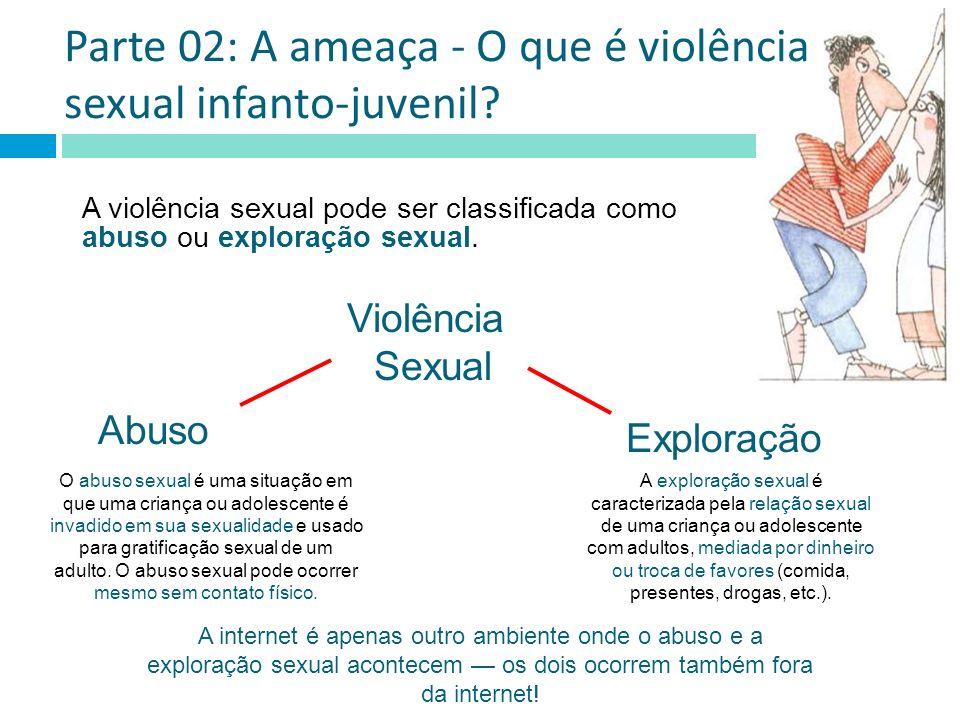 Parte 02: A ameaça - O que é violência sexual infanto-juvenil