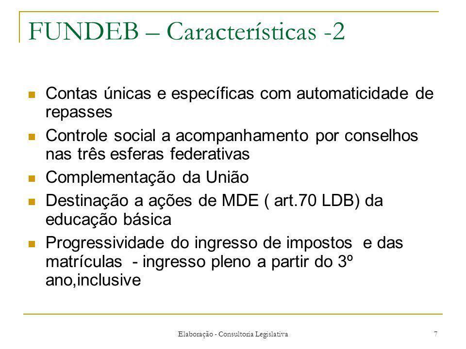 FUNDEB – Características -2