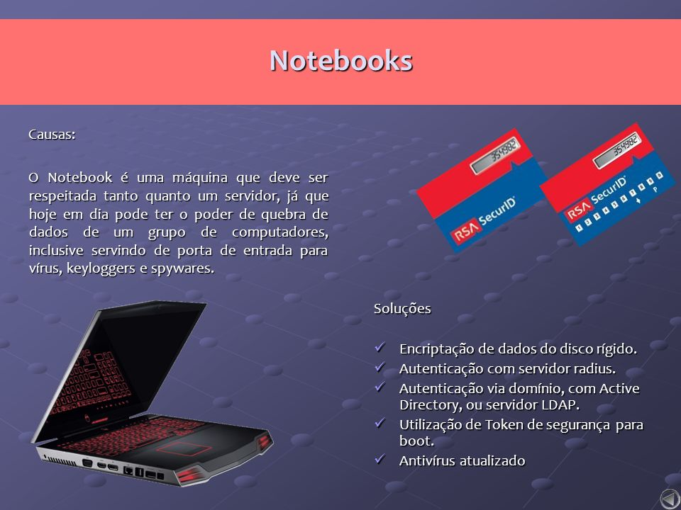 Notebooks Causas: