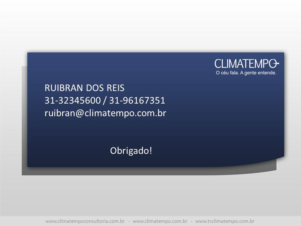 RUIBRAN DOS REIS 31-32345600 / 31-96167351 ruibran@climatempo.com.br