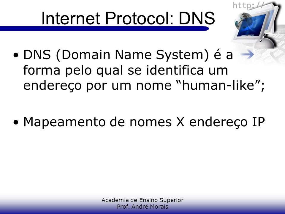 Internet Protocol: DNS