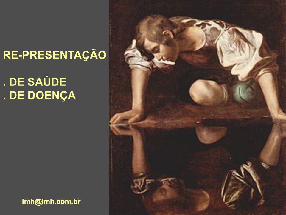 RE-PRESENTAÇÃO . DE SAÚDE . DE DOENÇA imh@imh.com.br