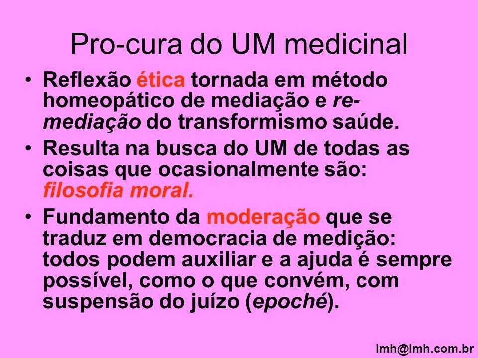 Pro-cura do UM medicinal