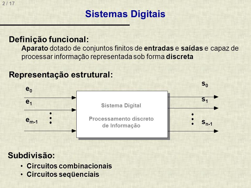 Processamento discreto de Informação