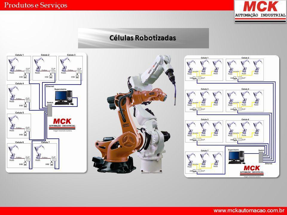 Produtos e Serviços Células Robotizadas www.mckautomacao.com.br