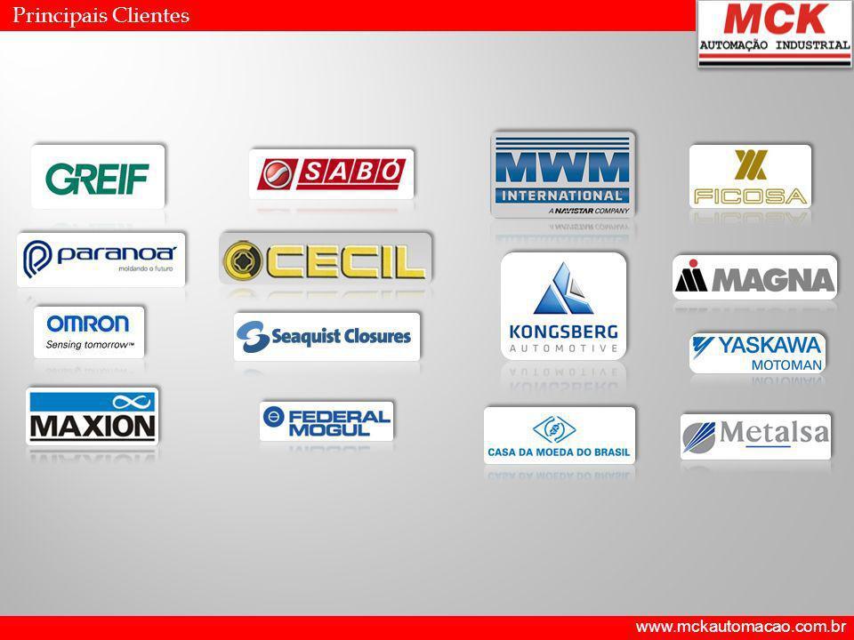 Principais Clientes www.mckautomacao.com.br