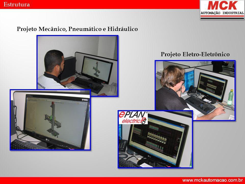 Projeto Mecânico, Pneumático e Hidráulico