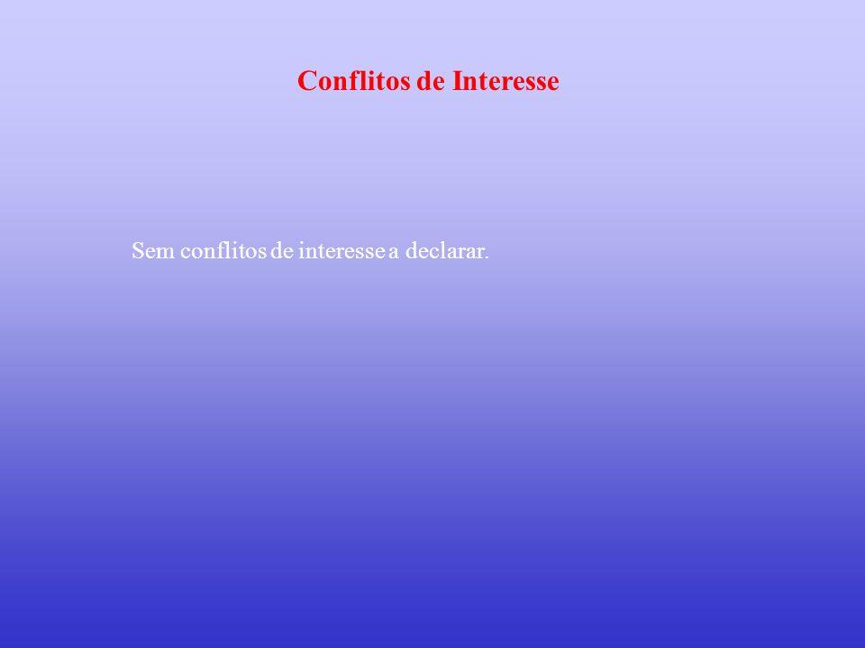 Conflitos de Interesse
