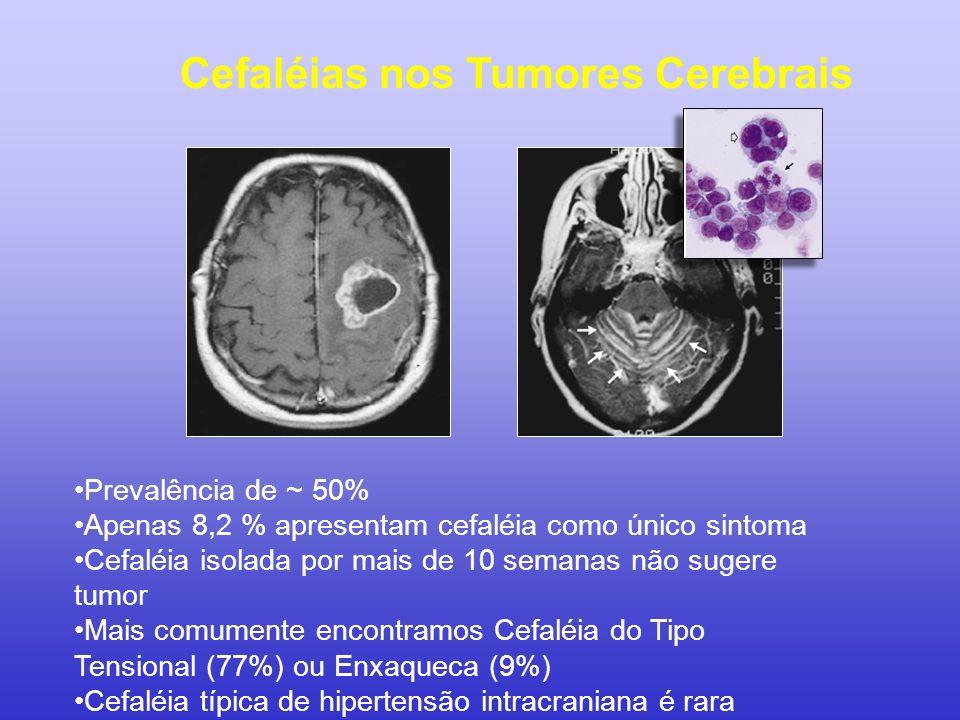 Cefaléias nos Tumores Cerebrais