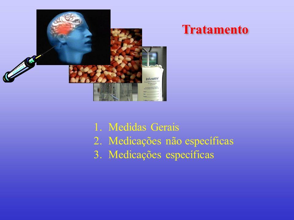 Tratamento Medidas Gerais Medicações não específicas