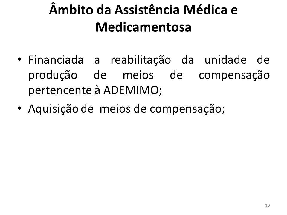 Âmbito da Assistência Médica e Medicamentosa