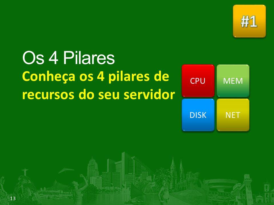 Conheça os 4 pilares de recursos do seu servidor