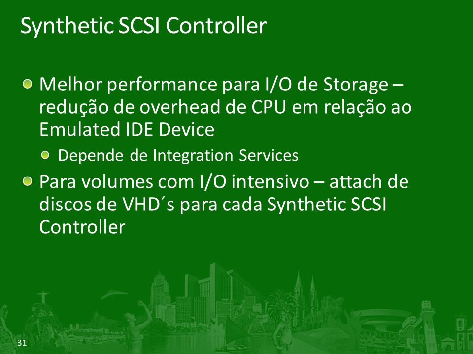 Synthetic SCSI Controller