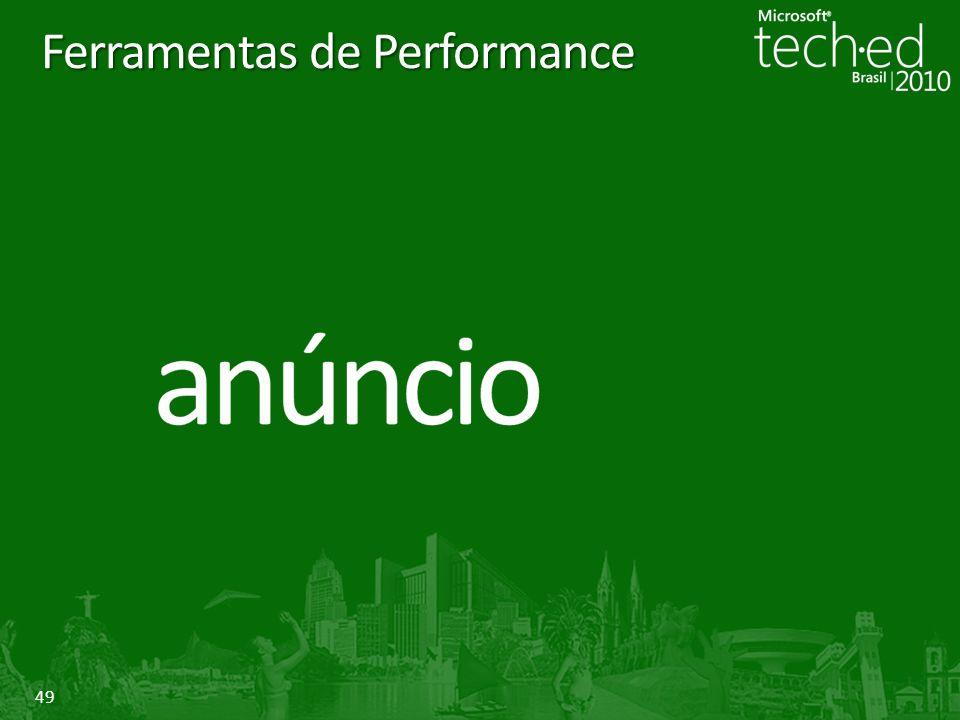 Ferramentas de Performance