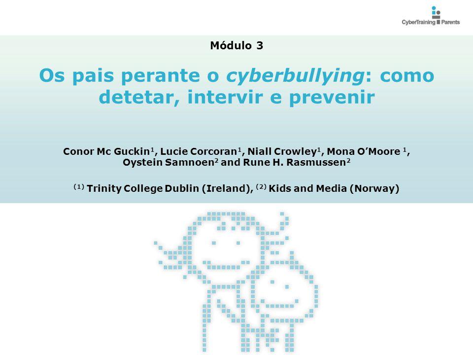 Os pais perante o cyberbullying: como detetar, intervir e prevenir