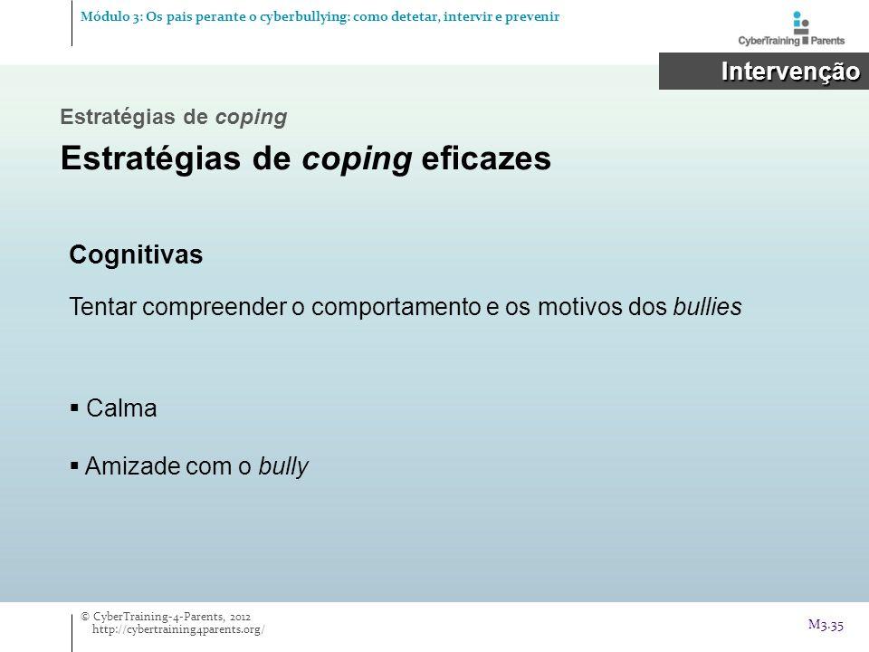Estratégias de coping eficazes