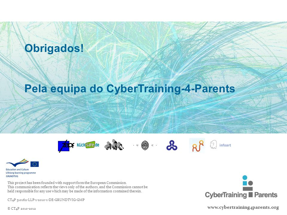 Pela equipa do CyberTraining-4-Parents