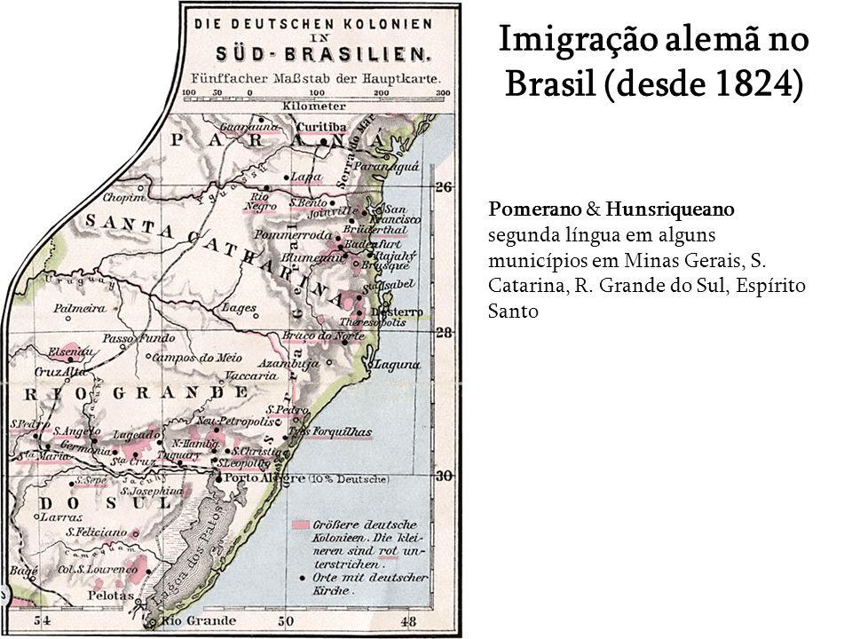 Imigração alemã no Brasil (desde 1824)