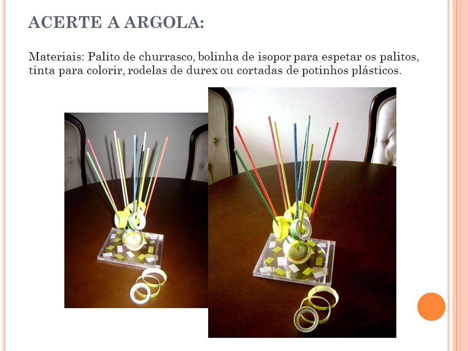 ACERTE A ARGOLA: