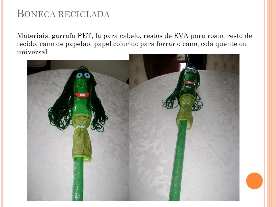 Boneca reciclada